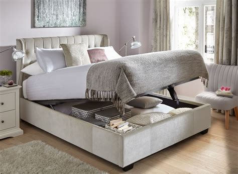 fabric ottoman beds sana pearl fabric ottoman bed frame