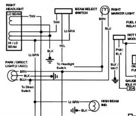 free headlight wiring diagram for 1991 gmc sierra k1500