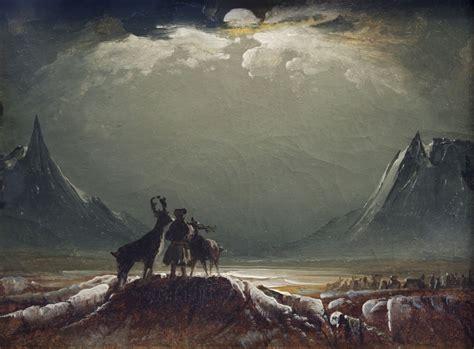 imagenes artisticas sublimes peder balke el olvidado pintor noruego de la soledad 225 rtica