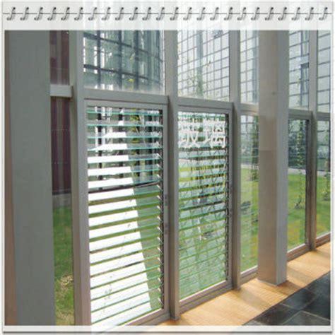 adjustable ventilation glass window blinds global sources