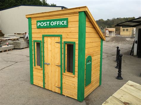 Comfort Post Office by Playhouses Ireland Dublin Wicklow Wexford Sheds Fencing
