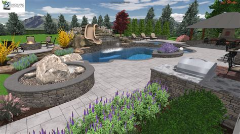 patio ideas archive landscaping company nj pa custom