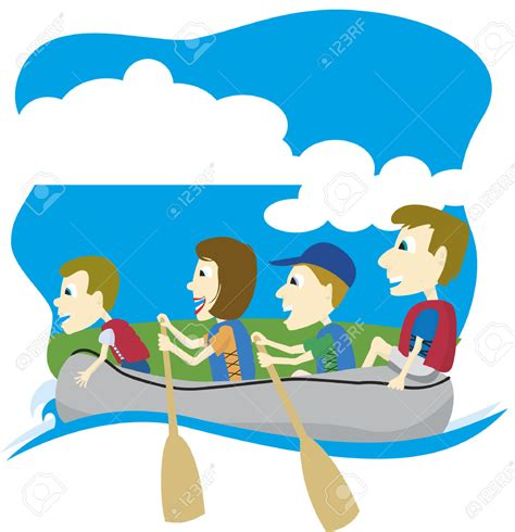 rafting boat clipart rafting clipart paddle boat pencil and in color rafting