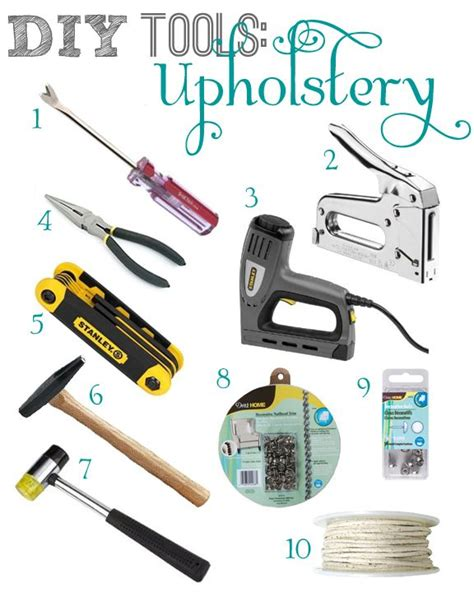 Upholstery Tack Gun by Best 25 Upholstery Ideas On