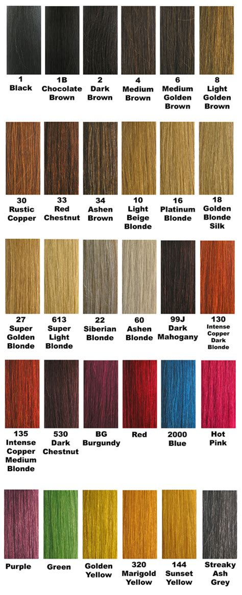 hair expression colour charts cleopatra 100 human hair remy extensions individual
