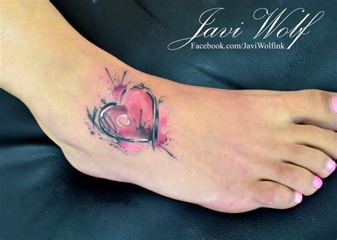 coraz 243 n en acuarelas by javi wolf tatuajes para