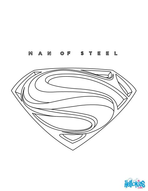 superman coloring pages hellokids com