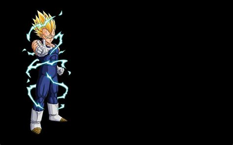 wallpaper dragon ball bergerak vegeta majin dragon ball z fond noir 1920x1200 fond d