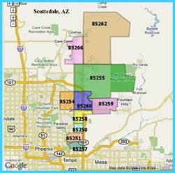 map of scottsdale arizona map of scottsdale arizona vacations travel map