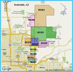 map of scottsdale arizona vacations travel map