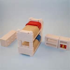 lego furniture bedroom collection w bunk bed
