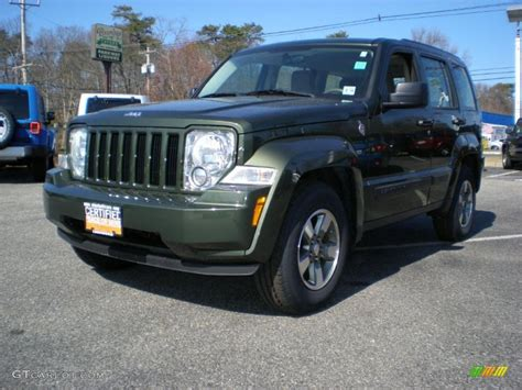 2008 Jeep Liberty Green 2008 Jeep Green Metallic Jeep Liberty Sport 4x4 46183125