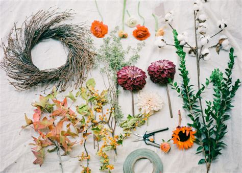create a fall floral wreath 171 utterly engaged