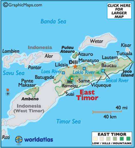 where is east timor on a map east timor weather forecasts and weather conditions