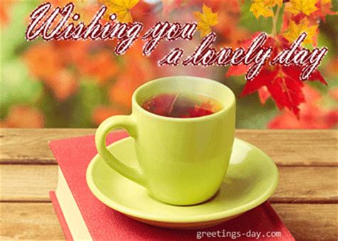 wishing   lovely day  animated greeting cards