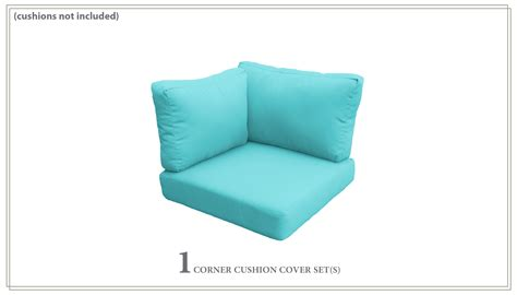 Thick Covers by Covers For High Back Corner Chair Cushions 6 Inches Thick