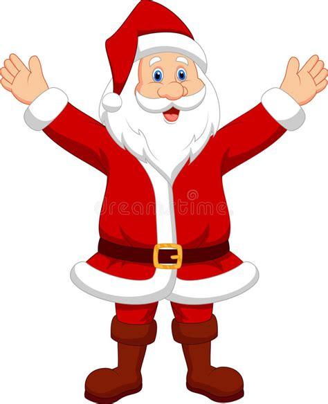anmated waving snata happy santa waving stock photo image 33243500