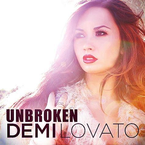 demi lovato unbroken album download demi lovato images unbroken fanmade album cover wallpaper