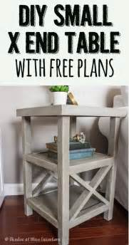 Build A Wooden Bedside Table by 25 Diy Side Table Ideas With Lots Of Tutorials 2017