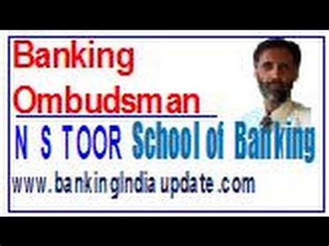 ombudsmann bank banking ombudsman