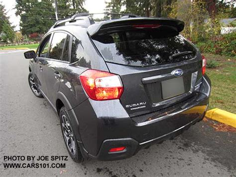 subaru crosstrek 2016 grey subaru 2016 crosstrek options and upgrades photo page 4