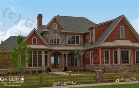 Open Two Story Floor Plans by Ashton Manor Craftsman Style House Plan