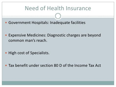 section 22 of income tax act healthcare industry ppt