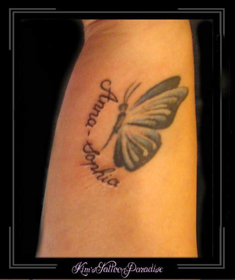 tattoo infinity vlinder vlinder kim s tattoo paradise