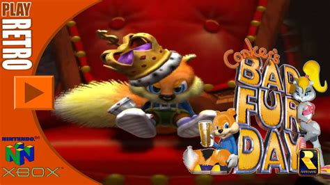 s day live play retro conker s bad fur day live reloaded