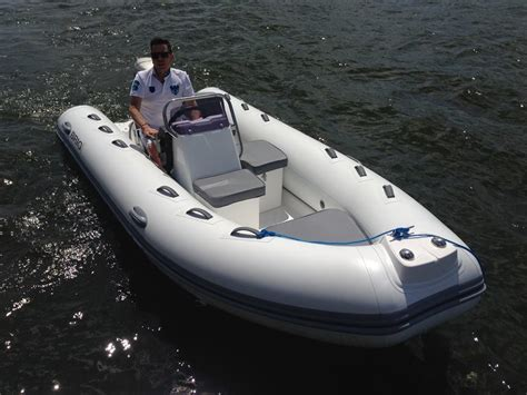 large inflatable boat falcon large 420 tender sirocco marine