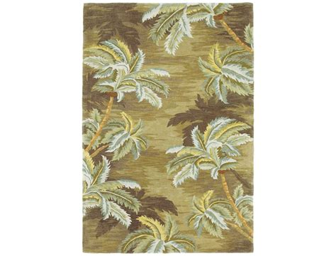 palm tree area rugs kas rugs sparta moss palm trees area rug 3102