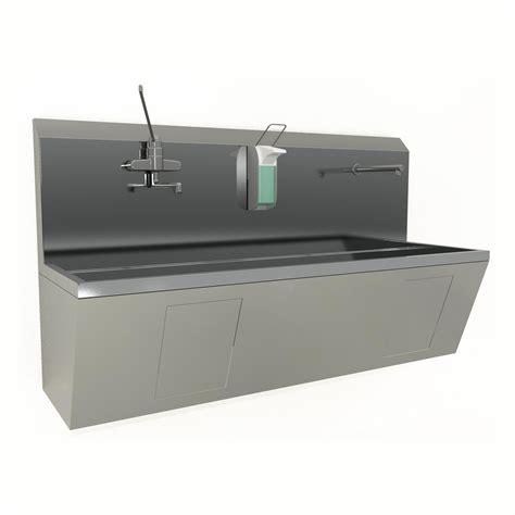 Scrub Sink stainless steel scrub sinks ktw inc
