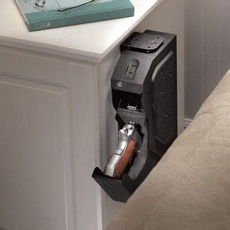Biometric Gun Safe Nightstand by Biometric Lock Gun Safe For Nightstand In Bedroom