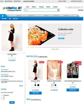 download free free ecommerce templates for asp net phpprogs