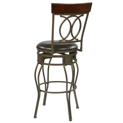 30 quot metal swivel bar stool in espresso csm2530 es 30 quot metal swivel bar stool in espresso csm2530 es