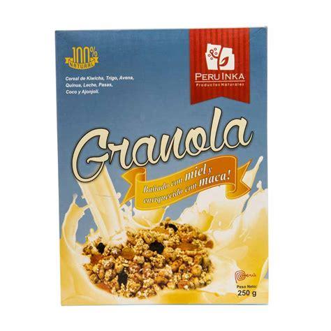 Granola 250 Gr cereales peru inka plaza vea plazavea food