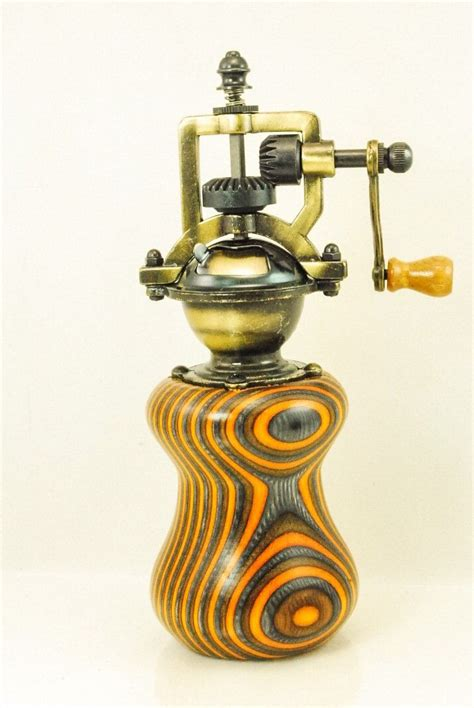 Handcrafted Pepper Mill - 199 best images about vintage steunk style pepper