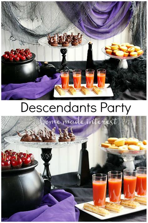 disney descendants party ideas food crafts and family disney s quot descendants quot party home made interest
