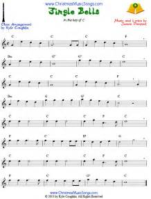 For a shorter version of jingle bells visit the easy jingle bells page