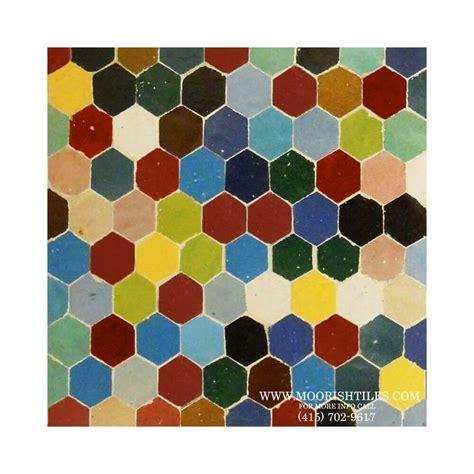 Hex Ceramic Tiles   Zellige Tile   Mosaic Hexagon Tile