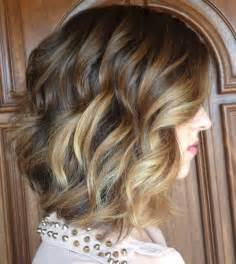medium length hair with ombre highlights gorgeous curly hairstyles for medium length hair