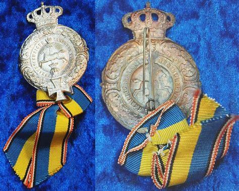 medaille braunschweiger landwehr verband f 252 r 25 j 228 hrige - Antike Möbel Braunschweig