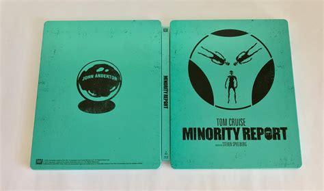 minority report book minority report steelbook exclusive