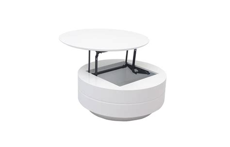 Table Basse Relevable Grise