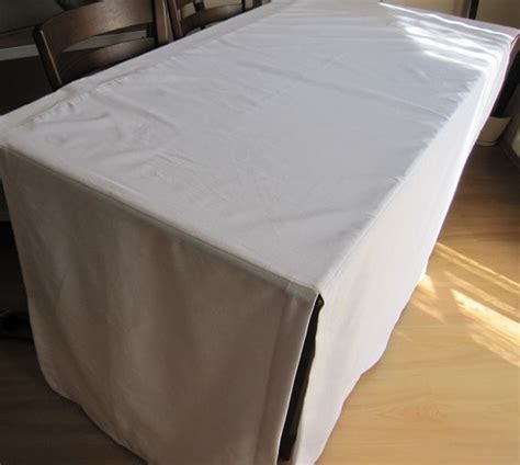 fitted split corner table cloth custom color tablecloth
