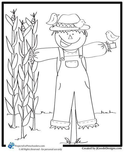 free printable scarecrow template build scarecrow coloring sheet coloring pages