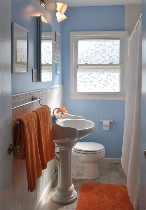 blue and orange bathroom house tour orange blue on drake home stories a to z