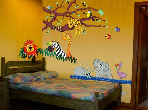 abstract wallpaper bedroom charming cute animal zoo wallpaper kids bedroom design