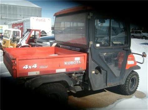 kubota side by side 4 wheeler kubota rtv 900 4x4 diesel dump atv side by side 4 wheeler