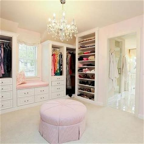 Pink Walk In Closet by Pink And Blue Walk In Closet Design Decor Photos